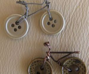 art, bike, and buttons image