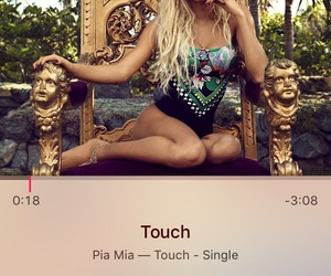 pia mia, touch, and music image