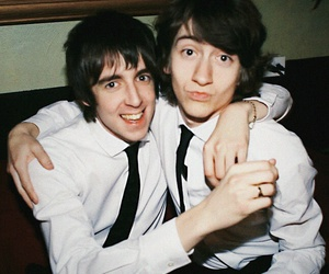 alex turner, arctic monkeys, and miles kane image