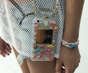 chanel, iphone, and bag image