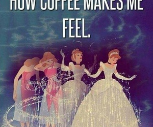 coffee, cinderella, and funny image