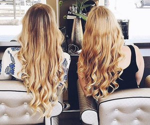 fashion, hair, and best friends image