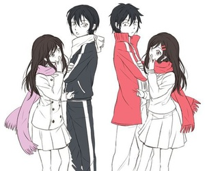 noragami, yato, and mekaku city actors image