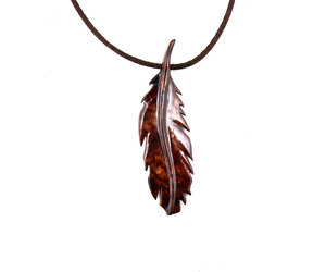 etsy, feather necklace, and men's jewelry image