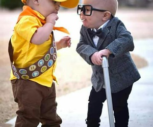 up, baby, and costume image