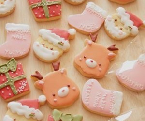 christmas, beautiful, and cookie image