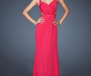 fuchsia prom dress, prom dresses 2016, and evening gown 2015 image