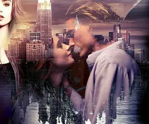 jace, clary, and the mortal instruments image