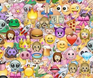 emoji, emojis, and wallpaper image