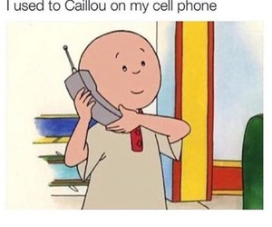 funny, Drake, and caillou image