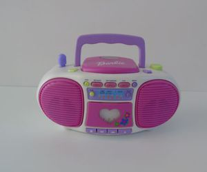 barbie dance with me, talking boom box be-154, and 2000 mattel image