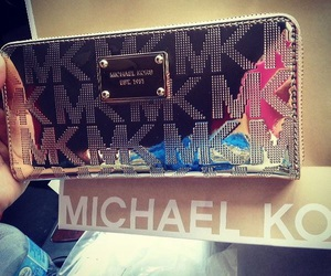 Michael Kors, fashion, and wallet image
