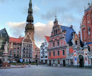 latvia, riga, and oldtown image