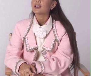 ariana grande and reactions image