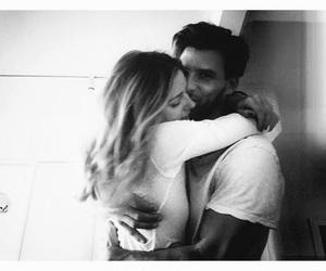 Hug And Kiss Couple