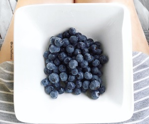 food, blueberries, and fitness image