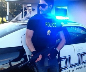 police, Hot, and sexy image