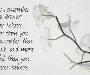 beautiful, believe, and brave image