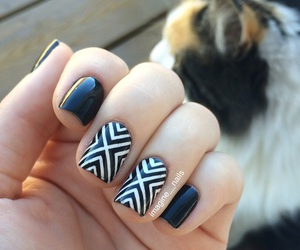 nail, nailpolish, and nailart image