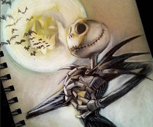 drawing, art, and Halloween image