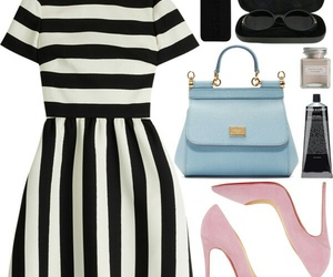 bags, clothes, and dress image