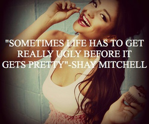 quote, shay mitchell, and pll image
