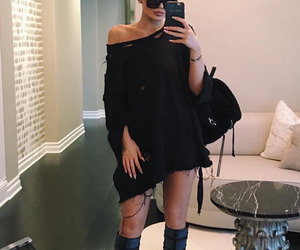 kylie jenner and black image