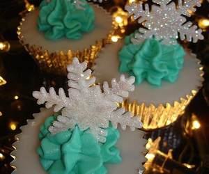 christmas, cupcake, and party image