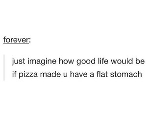 imagine, pizza, and tumblr image