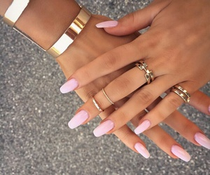 accesories, bracelets, and nails image