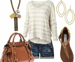 outfit, clothes, and bag image