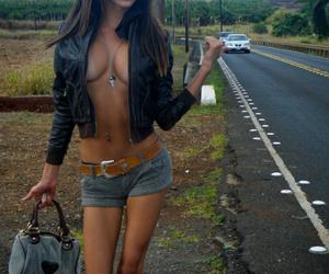 aviators, fake boobs, and fashion image
