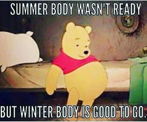 exercise, funny, and pooh image