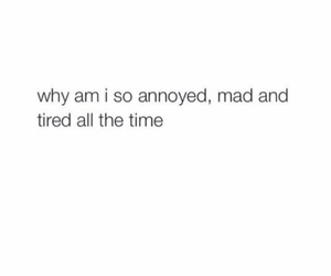 annoyed, mad, and tumblr image