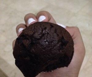 chocolate, muffin, and photo image