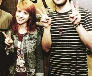 hayley williams, taylor york, and paramore image