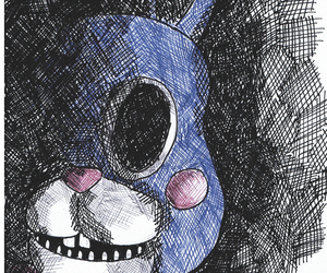 Bonnie, five nights at freddy's, and fnaf image