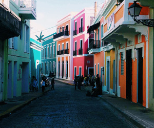 puerto rico, street, and travel image