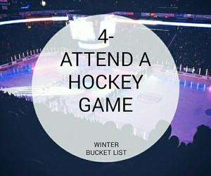 bucket, game, and hockey image