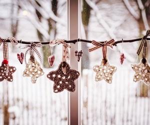 christmas, stars, and winter image