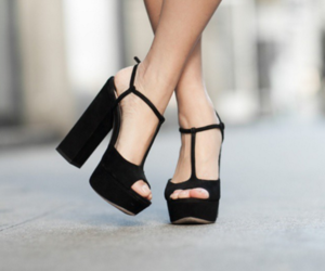 shoes, black, and style image