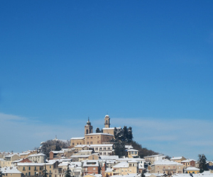 december, italy, and snow image