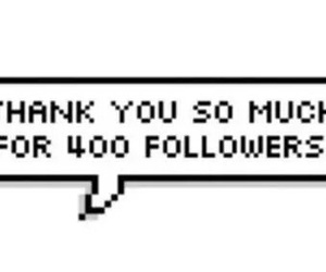all, thank, and followers image
