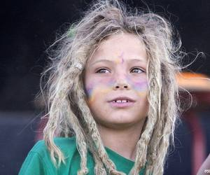 blonde, dreads, and rasta image