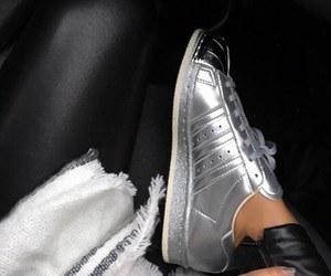 adidas, fashion, and silver image
