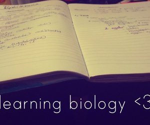 biology, bored, and learning image