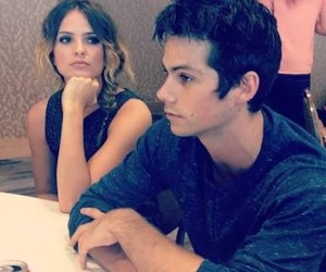 teen wolf, dylan o'brien, and shelley hennig image
