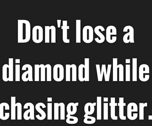 diamond, girl, and quotes image