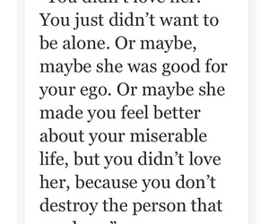 breakup, ego, and heartbroken image