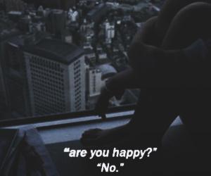 sad, happy, and quotes image